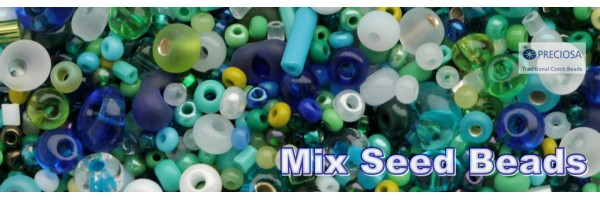 mixed seed beads preciosa
