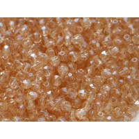 3mm UP Apaļa Gold Champagne Luster 100gab.