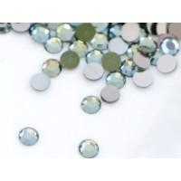 ss5 Plakanie akmeņi Crystal Green Flare (30gab.)