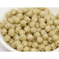 6mm Apaļa Melon Beads Beige Gold 30gab.