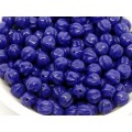 6mm Apaļa Melon Beads Navy Blue 30gab.