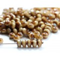 3x5mm UP Rondo Ivory Picasso 50gab.