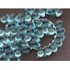 6x9mm Čehu stikla lāsītes Akvamarīns 25gab.