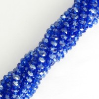 4x6mm Rondo Md Blue 10pcs