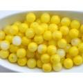 6mm Apaļa Mix Yellow 50gab.