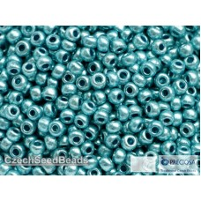 08/0 Apaļas Metallic Ice Blue (25g)