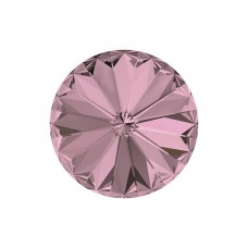 SWAROVSKI 1122 12mm Rivoli Fancy Stone Antique Pink F 2gab.
