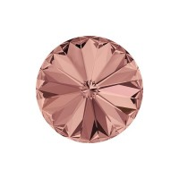 SWAROVSKI 1122 12mm Rivoli Fancy Stone Blush Rose F 2gab.