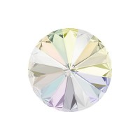 SWAROVSKI 1122 12mm Rivoli Fancy Stone Crystal AB F 2gab.