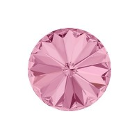 SWAROVSKI 1122 12mm Rivoli Fancy Stone Light Rose F 2gab.