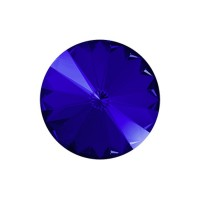 SWAROVSKI 1122 12mm Rivoli Fancy Stone Majestic Blue F 2gab.