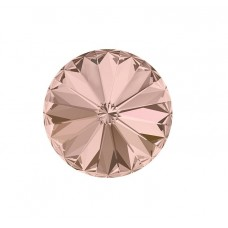 SWAROVSKI 1122 12mm Rivoli Fancy Stone Vintage Rose F 2gab.