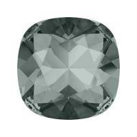 SWAROVSKI 4470 12mm Cushion Fancy Stone Black Diamond F 1gab.