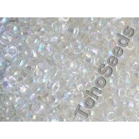 6/0 Toho Transparent Rainbow Crystal 06-161 (10g)