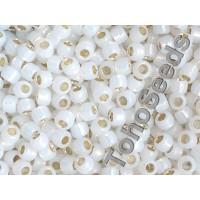 6/0 Toho Silver Line Milky White 06-2100 (10g)