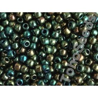6/0 Toho Higher Metallic Iris Green 06-507 (10g)