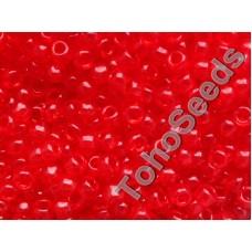 6/0 Toho Transparent Siam Ruby Red 06-5B (10g)