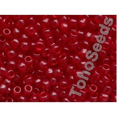6/0 Toho Transparent Garnet Red 06-5D (10g)