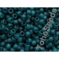 6/0 Toho Transparent Matte Teal 06-7BDF (10g)