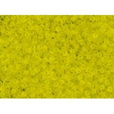11/0 Toho Transparent Matte Yellow 11-12F (10g)