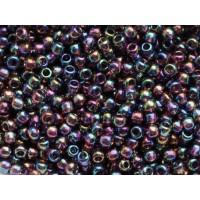 11/0 Toho Transparent Rainbow Dark Amethyst 11-166C (10g)