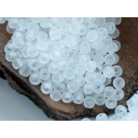 11/0 Toho Transparent Frosted Crystal 11-1F (10g)
