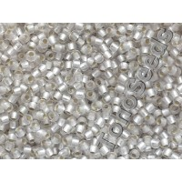 11/0 Toho Silver lined Matte Crystal 11-21F (10g)