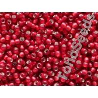 11/0 Toho Silver lined Matte Ruby 11-25CF (10g)