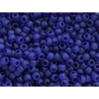 11/0 Toho Transparent Frosted Cobalt 11-8DF (10g)