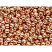 11/0 Toho Permanent Finish Galvanized Rose Gold 11-PF551 (10g)