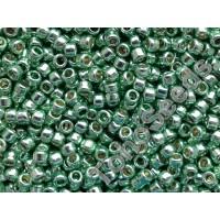 11/0 Toho Permanent Finish Galvanized Mint Green 11-PF570 (10g)