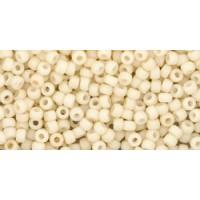 11/0 Toho Opaque Matte Pastel Egg Shell 11-762 (10g)