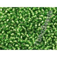 11/0 Toho Silver lined Green Peridot 11-27 (10g)
