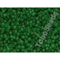 11/0 Toho Transparent Grass Green Frosted 11-7BF (10g)