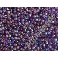 15/0 Toho Transparent Rainbow Med Amethyst 15-166B (5g)