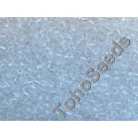 15/0 Toho Transparent Crystal 15-1 (5g)