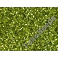 15/0 Toho Silver lined Lime Green 15-24 (5g)