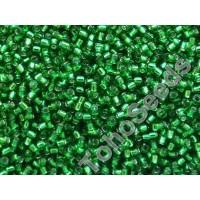 15/0 Toho Silver lined Grass Green 15-27B (5g)