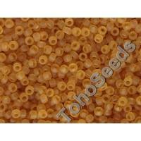 15/0 Toho Transparent Topaz Frosted 15-2CF (5g)