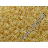 15/0 Toho Transparent Light Topaz Frosted 15-2F (5g)