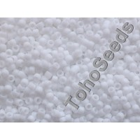15/0 Toho Opaque Frosted White 15-41F (5g)