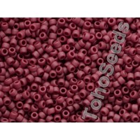 15/0 Toho Opaque Frosted Oxblood 15-46F (5g)