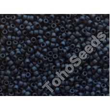 15/0 Toho Opaque Frosted Jet 15-49F (5g)