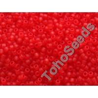 15/0 Toho Transparent Matte Siam Ruby 15-5BF (5g)