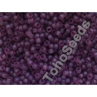 15/0 Toho Transparent Amethyst Frosted 15-6BF (5g)