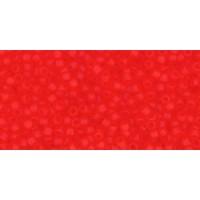 15/0 Toho Transparent Matte Light Siam Ruby 15-5F (5g)