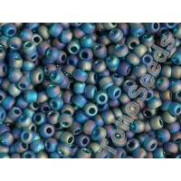 8/0 Toho Transparent Rainbow Frosted Teal 08-167BDF (10g)