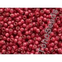 08/0 Toho Silver Lined Milky Pomegranate 08-2113 (10g)