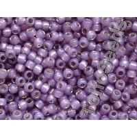8/0 Toho Silver Lined Milky Lavender 08-2124 (10g)