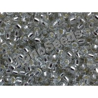 8/0 Toho Silver lined Crystal 08-21 (10g)
